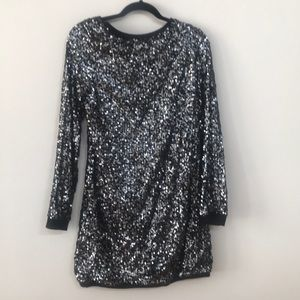 Free people holiday sequin dress